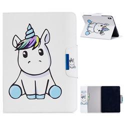 Blue Unicorn Folio Flip Stand Leather Wallet Case for Apple iPad Pro 11