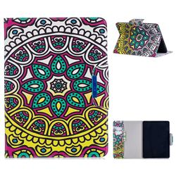 Sun Flower Folio Flip Stand Leather Wallet Case for Apple iPad Pro 11