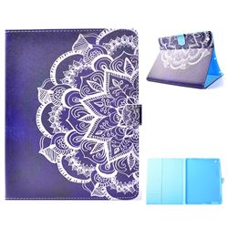 Half Lace Mandala Flower Folio Flip Stand Leather Wallet Case for iPad 4 the New iPad iPad2 iPad3