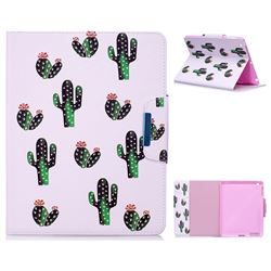 Cactus Folio Flip Stand Leather Wallet Case for iPad 4 the New iPad iPad2 iPad3