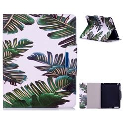 Green Leaves Folio Flip Stand Leather Wallet Case for iPad 4 the New iPad iPad2 iPad3