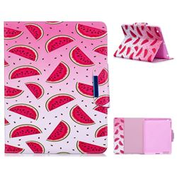 Watermelon Folio Flip Stand Leather Wallet Case for iPad 4 the New iPad iPad2 iPad3
