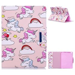 Cloud Unicorn Folio Flip Stand Leather Wallet Case for iPad Air iPad5