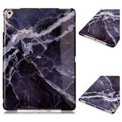 Gray Stone Marble Clear Bumper Glossy Rubber Silicone Phone Case for iPad Air 2 iPad6
