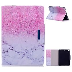 Sand Marble Folio Flip Stand Leather Wallet Case for iPad Air 2 iPad6