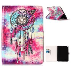 Butterfly Chimes Folio Flip Stand PU Leather Wallet Case for iPad 9.7 2017 9.7 inch