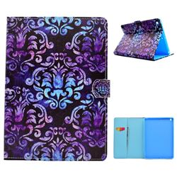 Royal Mandala Flower Folio Flip Stand Leather Wallet Case for iPad 9.7 2017 9.7 inch