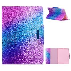 Rainbow Sand Folio Flip Stand Leather Wallet Case for iPad 9.7 2017 9.7 inch