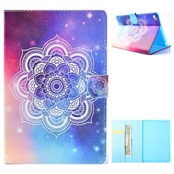 Sky Mandala Flower Folio Flip Stand Leather Wallet Case for iPad Mini 1 2 3