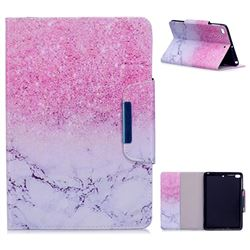 Sand Marble Folio Flip Stand Leather Wallet Case for iPad Mini 1 2 3