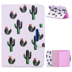 Cactus Folio Flip Stand Leather Wallet Case for iPad Mini 4