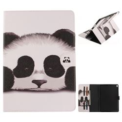 Sleeping Panda Painting Tablet Leather Wallet Flip Cover for iPad Pro 10.5