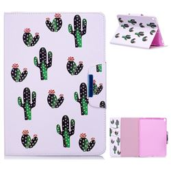 Cactus Folio Flip Stand Leather Wallet Case for iPad Pro 10.5
