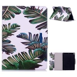 Green Leaves Folio Flip Stand Leather Wallet Case for iPad Pro 10.5