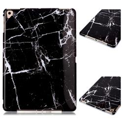 Black Stone Marble Clear Bumper Glossy Rubber Silicone Phone Case for iPad Pro 9.7 2016 9.7 inch