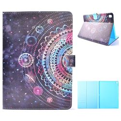 Universe Mandala Flower Folio Flip Stand Leather Wallet Case for iPad Pro 9.7 2016 9.7 inch