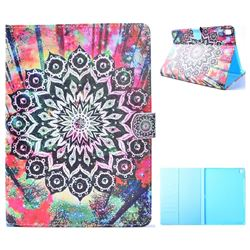 Colorful Mandala Flower Folio Flip Stand Leather Wallet Case for iPad Pro 9.7 2016 9.7 inch