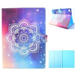 Sky Mandala Flower Folio Flip Stand Leather Wallet Case for iPad Pro 9.7 2016 9.7 inch