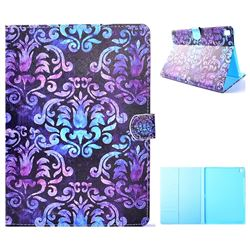 Royal Mandala Flower Folio Flip Stand Leather Wallet Case for iPad Pro 9.7 2016 9.7 inch