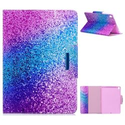 Rainbow Sand Folio Flip Stand Leather Wallet Case for iPad Pro 9.7 2016 9.7 inch