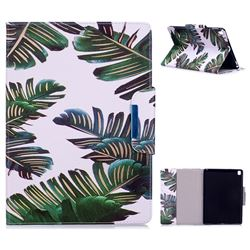 Green Leaves Folio Flip Stand Leather Wallet Case for iPad Pro 9.7 2016 9.7 inch