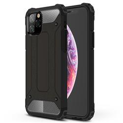 King Kong Armor Premium Shockproof Dual Layer Rugged Hard Cover for iPhone 11 Pro (5.8 inch) - Black Gold