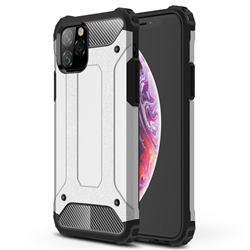 King Kong Armor Premium Shockproof Dual Layer Rugged Hard Cover for iPhone 11 Pro (5.8 inch) - White