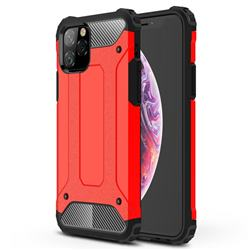 King Kong Armor Premium Shockproof Dual Layer Rugged Hard Cover for iPhone 11 Pro (5.8 inch) - Big Red