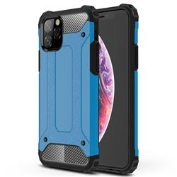 King Kong Armor Premium Shockproof Dual Layer Rugged Hard Cover for iPhone 11 Pro (5.8 inch) - Sky Blue