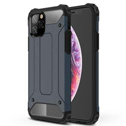 King Kong Armor Premium Shockproof Dual Layer Rugged Hard Cover for iPhone 11 Pro (5.8 inch) - Navy