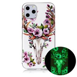 Sika Deer Noctilucent Soft TPU Back Cover for iPhone 11 Pro (5.8 inch)