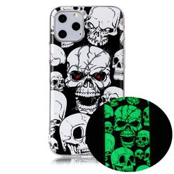 Red-eye Ghost Skull Noctilucent Soft TPU Back Cover for iPhone 11 Pro (5.8 inch)