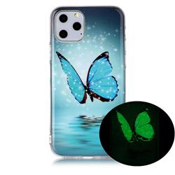Butterfly Noctilucent Soft TPU Back Cover for iPhone 11 Pro (5.8 inch)