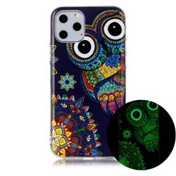 Tribe Owl Noctilucent Soft TPU Back Cover for iPhone 11 Pro (5.8 inch)