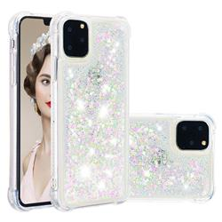 Dynamic Liquid Glitter Sand Quicksand Star TPU Case for iPhone 11 Pro (5.8 inch) - Pink