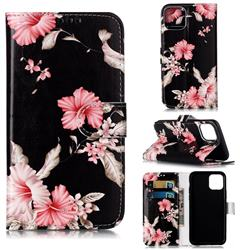 Azalea Flower PU Leather Wallet Case for iPhone 11 Pro (5.8 inch)