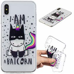 Batman Clear Varnish Soft Phone Back Cover for iPhone XS Max (6.5 inch)