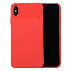 Carapace Soft Back Phone Cover for iPhone XS Max (6.5 inch) - Red