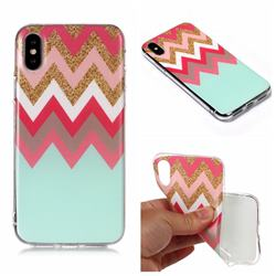 Tribal Stripes Matte Soft TPU Back Cover for iPhone XS Max (6.5 inch)