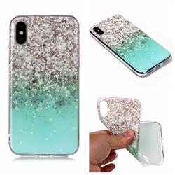 Little Starry Sky Matte Soft TPU Back Cover for iPhone XS Max (6.5 inch)