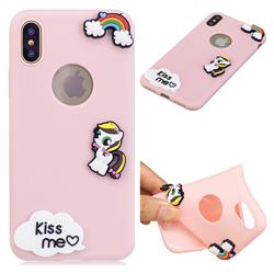 Kiss me Pony Soft 3D Silicone Case for iPhone XS Max (6.5 inch)