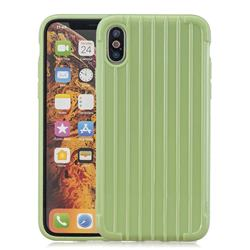 Suitcase Style Mobile Phone Back Cover for iPhone XS Max (6.5 inch) - Green