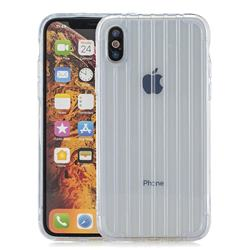 Suitcase Style Mobile Phone Back Cover for iPhone XS Max (6.5 inch) - Transparent