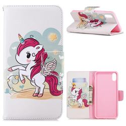 Cloud Star Unicorn Leather Wallet Case for iPhone XS Max (6.5 inch)