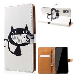 Proud Cat Leather Wallet Case for iPhone XS Max (6.5 inch)