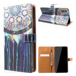 Dream Catcher Leather Wallet Case for iPhone XS Max (6.5 inch)