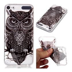 Staring Owl Super Clear Soft TPU Back Cover for iPod Touch 5 6