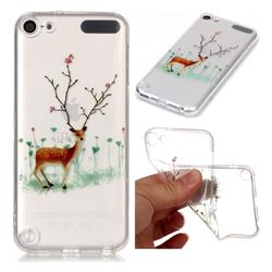 Branches Elk Super Clear Soft TPU Back Cover for iPod Touch 5 6
