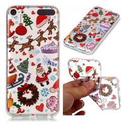 Christmas Playground Super Clear Soft TPU Back Cover for iPod Touch 5 6