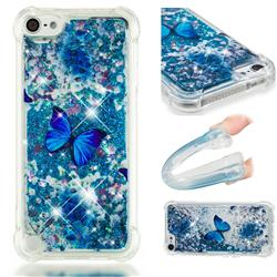 Flower Butterfly Dynamic Liquid Glitter Sand Quicksand Star TPU Case for iPod Touch 5 6